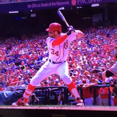 Vine by Barely In Bounds - Bryce Harper hitting a home run on July 4 -- how American can you get?