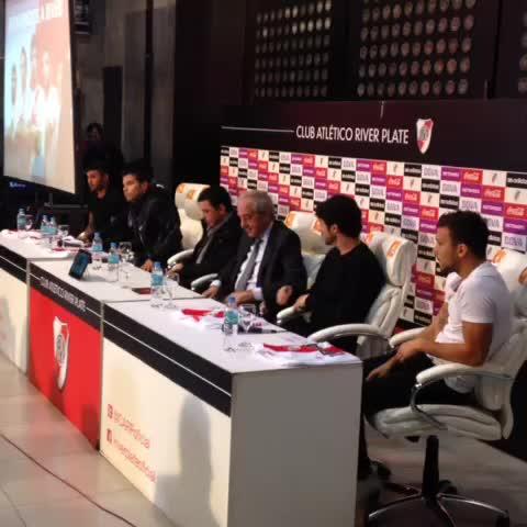 Vine by River Plate Oficial - Presentación de los refuerzos #RiverPlate