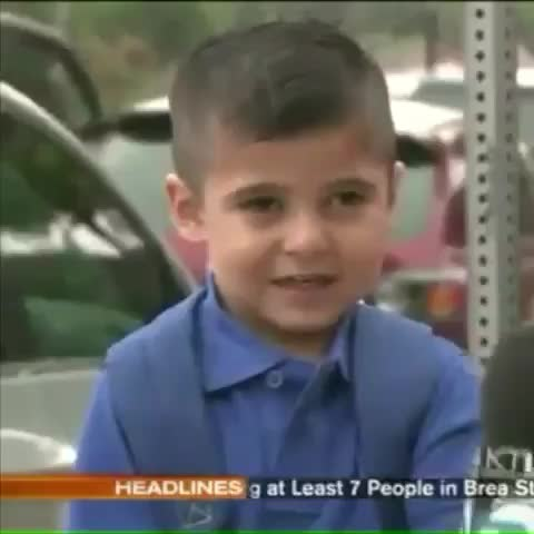 Vine by Robert Hunanian - Had to post this lol funny kid #report #cryingkid #funny #hilarious #reporter #news #crying #cryinglaughing