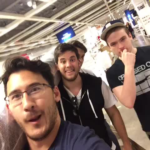 Shopping at IKEA be like... - Vine by Markiplier - Shopping at IKEA be like...