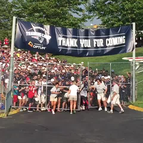 Vine by New England Patriots - 2015 #PatsCamp is officially open!