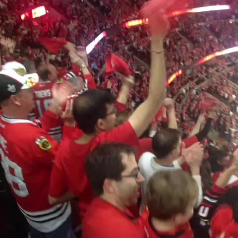 Vine by Scott Grodsky - Keith sends the United Center into a frenzy! @Blackhawk_Up @Chicago_IceHogs