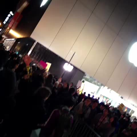 COPS MOVING IN!! Shut it down for MICHAEL BROWN #SF - Patrick Connorss post on Vine