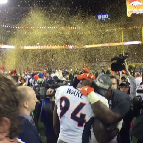 Vine by Denver Broncos - How cool is this. #SB50
