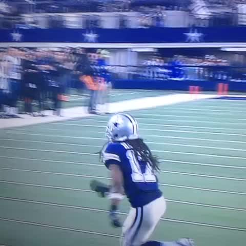 Best play of the day! Thank you @D_Harris17 #CowboysNation - Cowboy16_s post on Vine