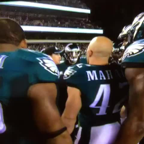 Dave Fipp warned Eagles players that opening kickoff last week would probably be short. From NBCSPs Turning Point: - Vine by Sheil Kapadia - Dave Fipp warned Eagles players that opening kickoff last week would probably be short. From NBCSPs Turning Point: