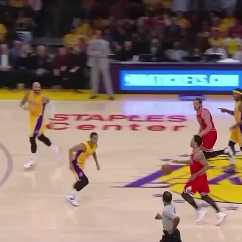 Vine by Chicago Bulls - Rose attacks on CSN and TNT