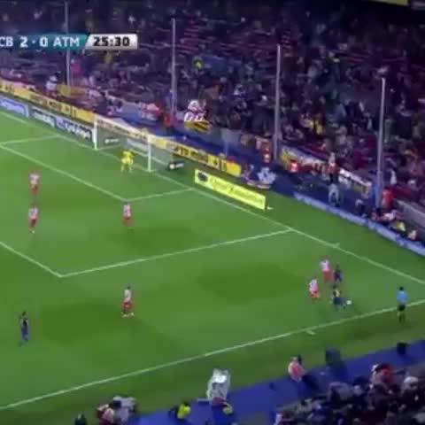 Leo #Messi v Atlético de Madrid. Name the season - Vine by FC Barcelona - Leo #Messi v Atlético de Madrid. Name the season