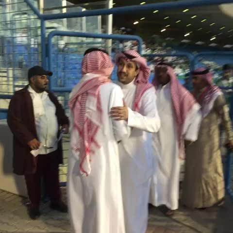 Vine by الأهلي السعودي - مباشر من الدمام ، وصول الأمير فهد بن خالد إلى ملعب الأمير محمد بن فهد بالدمام.