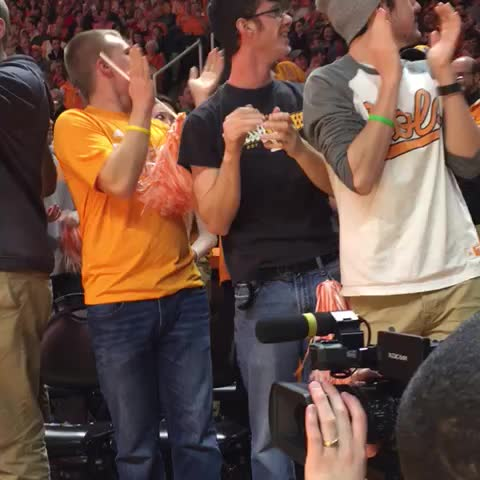 "Vine by Rocky Top Insider - ""We want Richmond!"" Being chanted by #Vol students. Richmond acknowledged the crowd."