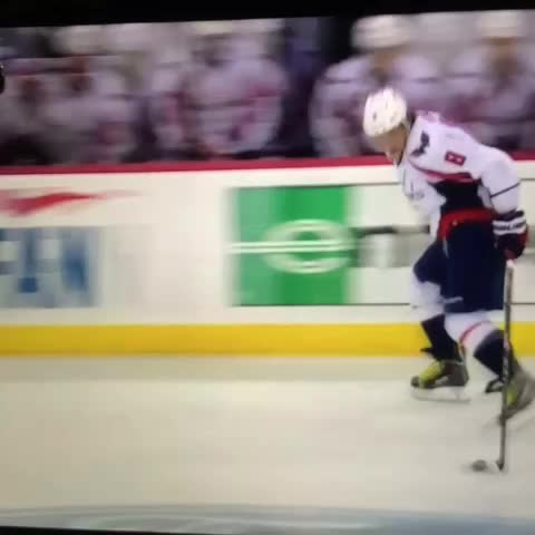 Vine by Left Wing Lock - Ovechkin scored a very Ovechkin-esque goal tonight. #NHL #hockeyvines #Caps