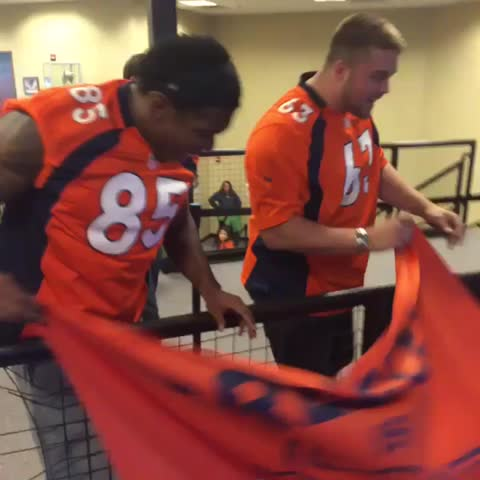 Vine by Denver Broncos - Thank you, Greeley! 2K showed up -- wish we could have touched base with you all! An incredible turnout, #BroncosCountry!  #SaluteToFansTour