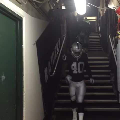 Vine by OAKLAND RAIDERS - Almost that time. #Raiders