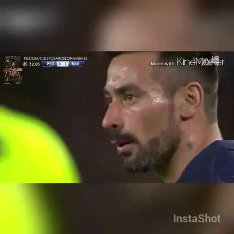 Vine by Twitter: @Fcbsamper - Barcelonas amazing offside trap