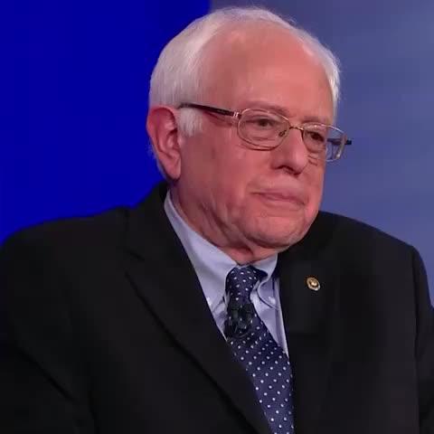 "Vine by POLITICO - .@BernieSanders: ""I AM Larry David"""