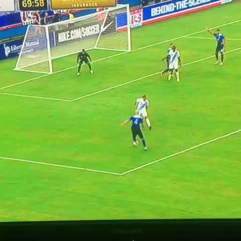 """Vine by Corner On Sports - """"Easy as you like from Dempsey."""" 3-0 USA! #USMNT #USAvGUA #COSHighlight"""