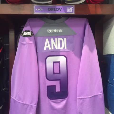 717781a6b Washington Capitals honor 12-year-old cancer survivor at Hockey ...