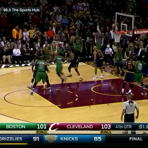 Vine by The NBA on ESPN - Avery Bradley for the win!