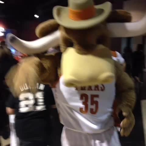 Vine by San Antonio Spurs - College night is gearing up here at the AT&T Center! #GoSpursGo