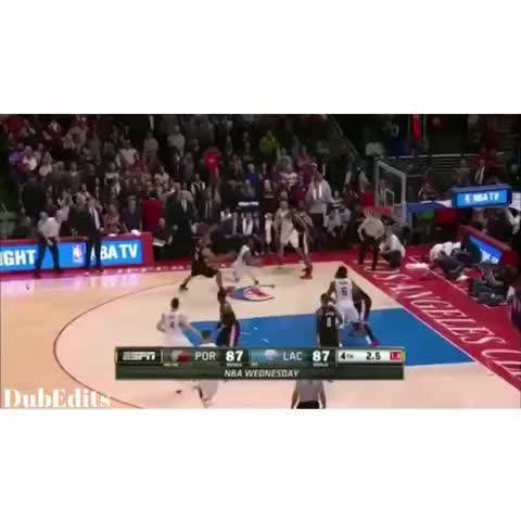 Vine by DubEdits™ - Jordan What are u doing?!? ???????????? Double if you liked Chris Pauls Reaction ????