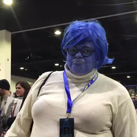 Vine by Charles Martinet - #comicon #lastday #sadness #insideout #CharlesMartinet #charlesmartinetitsame