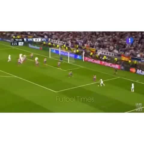 Vine by Fùtbol Times™ - Sergio Ramos amazing goal in Champions league 💀HyperVenomSquad💀.   Contest ends March 1st song doesnt matter anymore #FutbolTimes2k 👈