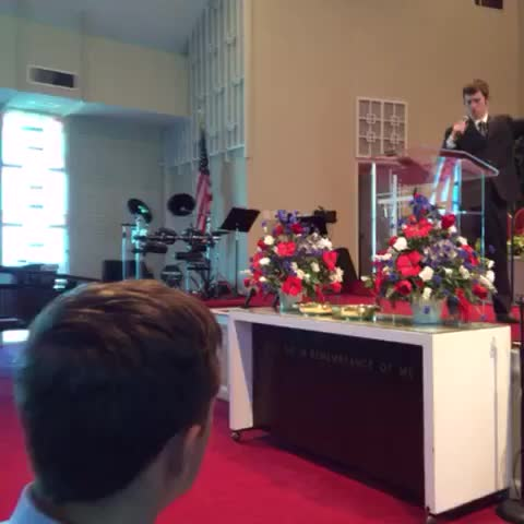 Vine by Samuel Grubbs - Not even people in church are safe 😂😂😂