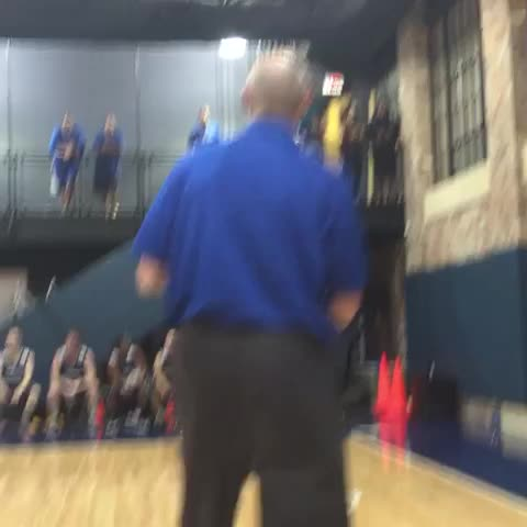 Vine by DallasMavs - @chandlerparsons from way deep and the assist from Coach Carlisle! ????