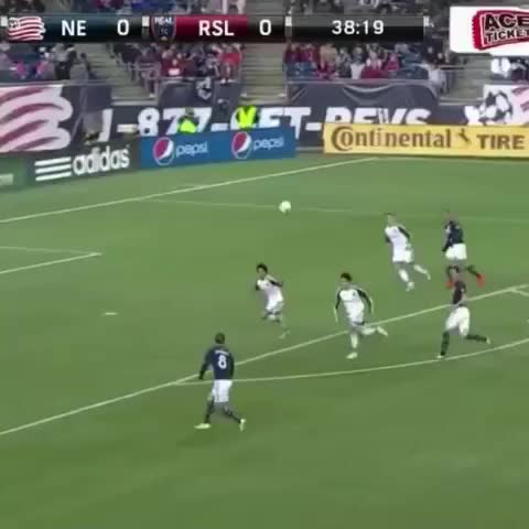 Vine by MLS - What a finish from Tierney. #MLS