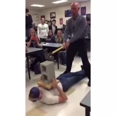 Vine by viaLuke - the physics teacher lost his job shortly after this lmao