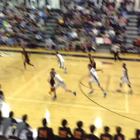 Vine by Deana King - Wesleyan Christians Kwe Parker with the huge block.