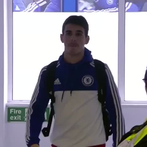 Vine by Chelsea FC - Oscar and John Terry arrive...