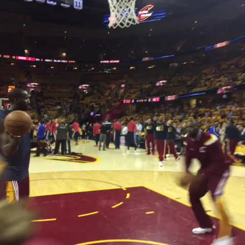 Vine by Cavs - We ready. Lets do this, Cleveland. GAME 4 🔥