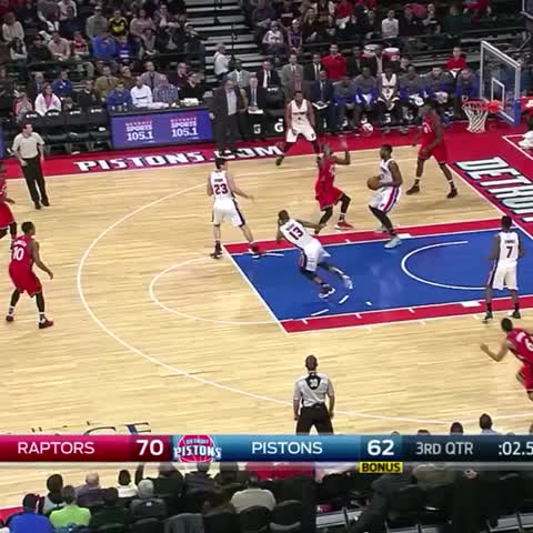 Vine by Detroit Pistons - 👀🙌🔥 Andre Drummond