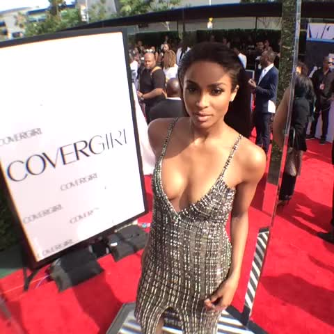 Vine by BET Awards - Check out what @ciara and all your fav celebs are wearing on the #BETAwards red carpet