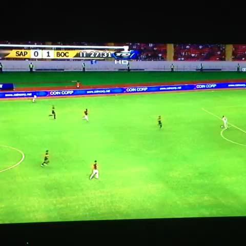 Vine by Diario Digital Ticodeporte.com - Gol de Calleri. #Saprissa 0 -  #BocaJuniors 1.