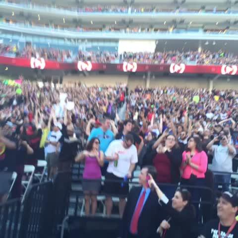 Vine by WWE - Over 70 thousand people celebrate @WWEDanielBryans #ICTitle win at #WrestleMania