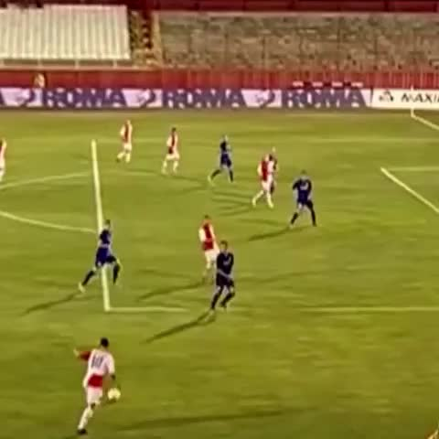 Vine by Vineogoalic - After scoring 2 beautiful goals against Sampdoria, Vojvodinas Ozegovic scores another beauty in the Serbian Super League