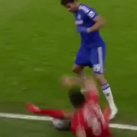 Vine by ChelsVines - FA: Diego Costa is charged for violent conduct. Sergio Aguero is NOT charged for violent conduct. #CampaignAgainstChelsea