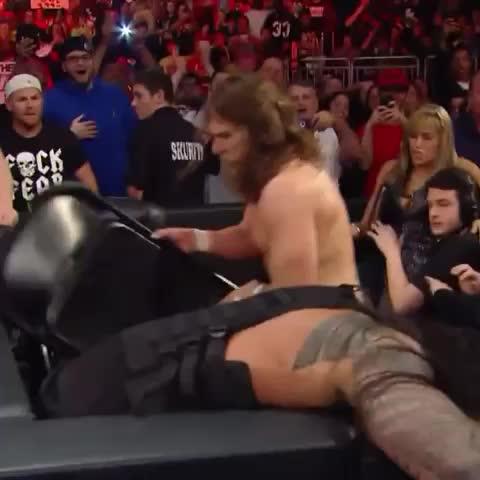 Vine by John Cena Source - Roman Reigns is A BEAST! @WWERomanReigns #Raw