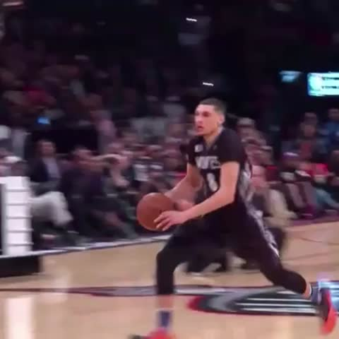 Vine by MN Timberwolves - SLAM DUNK CHAMP x2!! #VerizonDunk #RisingWolves