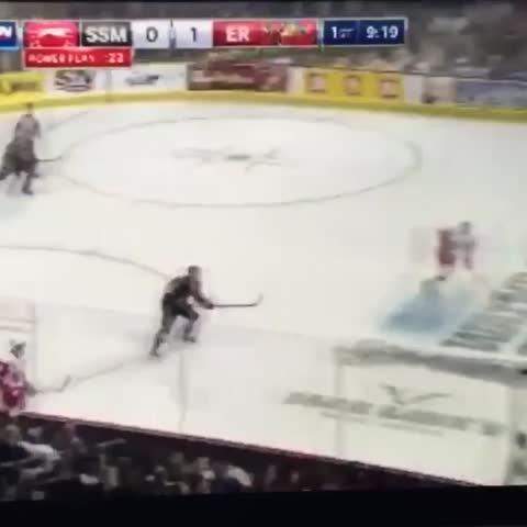 Vine by Hockey Posts - McDavids goal tonight. Unreal.