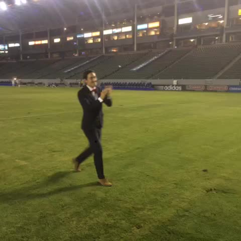 Vine by LA Galaxy - ACB saying goodbye to Stefan Ishizaki