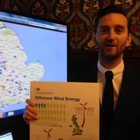 Vine by BIS - The UK is the world leader in Offshore Wind, @theboyhall explains why.  #IndustrialStrategy