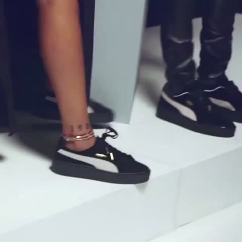 Vine by TRAVIS SCOTT SNIPPETS - Rihanna and Travis for Puma (2)