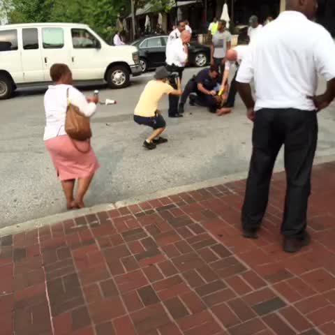 Vine by DeRay Mckesson - Yall. This. They are arresting @KwameRose.