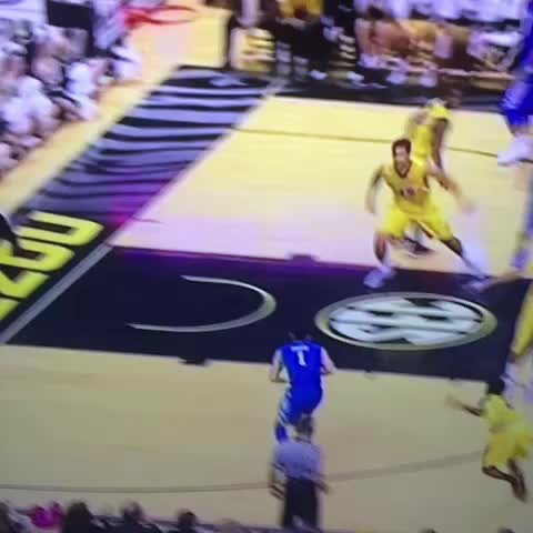 Vine by Tom Martin - There is no dunking allowed sir.