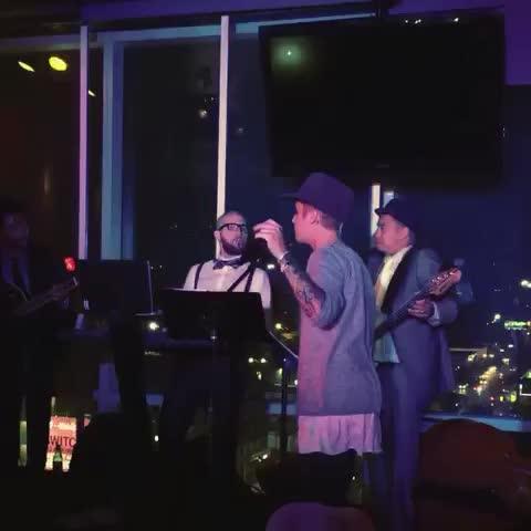 Vine by Justin Bieber - Jazz night 1