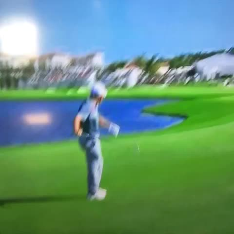 Vine by Shane B - Rory McIlroy disposes of his long iron after a pond ball.