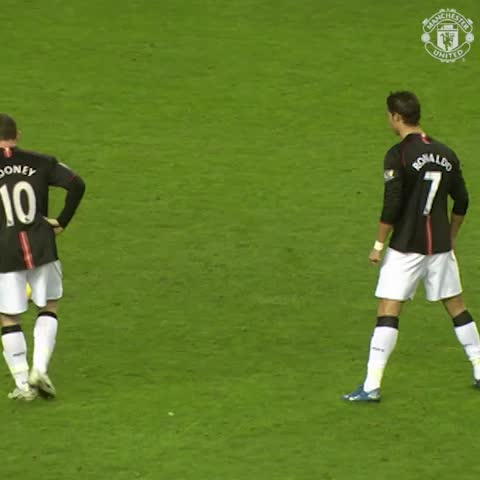 Vine by Manchester United - Textbook from Ronaldo v Sunderland in 2007! #mufc